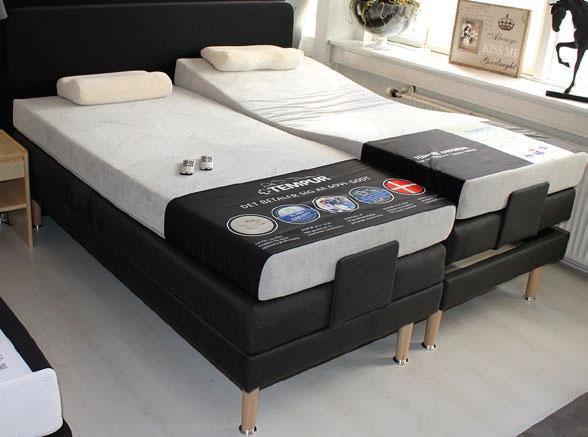 tempur madras tilbud VIP fjederelevation m/TEMPUR® Original Combi 15 Ice Grey madrasser  tempur madras tilbud